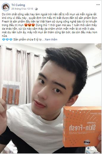 Đánh giá của khách hàng Tri-Cuong skin fresh
