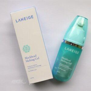Review Gel trị mụn đầu đen Laneige Blackhead Melting gel- top san pham tri mun dau den