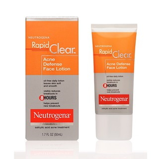 Neutrogenna rapid Clear Acne Defense Face- kem tri mun an rhieu qua