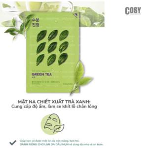 Mặt nạ giấy Holika Holika chiết xuất trà xanh